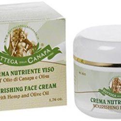 Bottega della Canapa Crema Nutriente Viso all'Olio di Oliva – 50 ml