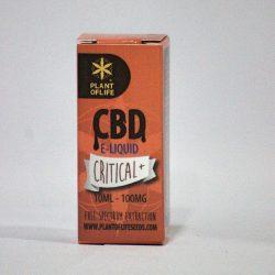Critical + e liquido CBD 10ml
