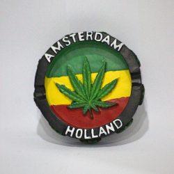 "Posacenere ""Amsterdam Rasta"""