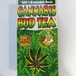 MINT CANNABIS BUD TEA