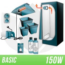 KIT INDOOR TERRA 150W + GROW BOX – BASIC