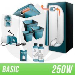 KIT INDOOR TERRA 250W + GROW BOX – BASIC