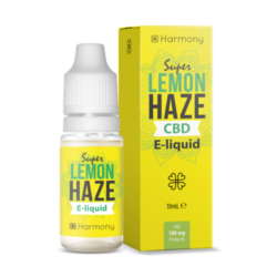 CBD E-LIQUID HARMONY 10ML 100MG 'LEMON HAZE'
