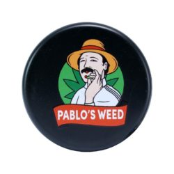 GRINDER PLASTICA NERO – PABLO'S WEED –