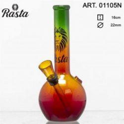 Rasta Bouncer Bong Vetro – 16 cm