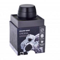 GRINDER CHAMP IN METALLO 4 PARTI DIAMETRO 40 MM COLORE NERO