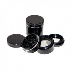 ALUMINIUM CNC GRINDER – 4 PART – 50MM – BLACK