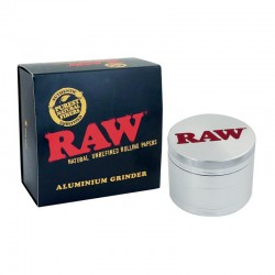 RAW GRINDER IN ALLUMINIO 56MM 4 PARTI