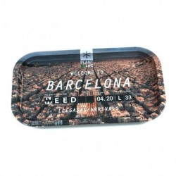 VASSOIO PLANT OF LIFE – WELCOME TO BARCELONA 27X16CM