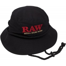 RAW SMOKERMAN CAPPELLO NERO – MEDIO