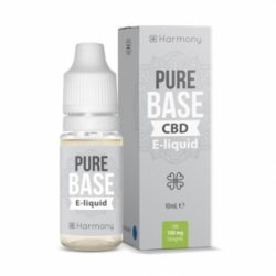 HARMONY – PURE BASE E-LIQUID 10ml – 300mg CBD | LIQUIDI SCOMPOSTI DA DILUIRE
