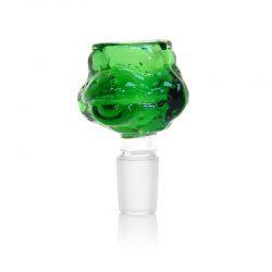 Braciere per Bong in vetro verde tartaruga 14mm