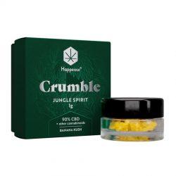 Happease Estratto di CBD Jungle Spirit Crumble 90% CBD + Altri Cannabinoidi (1g)