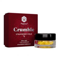 Happease Estratto di CBD Strawberry Field Crumble 90% CBD + Altri Cannabinoidi (1g)